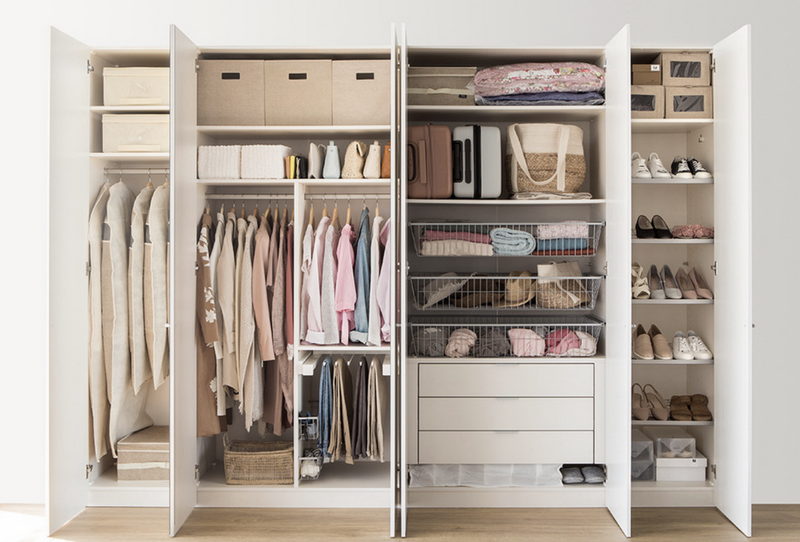 15 pasos básicos para ordenar tu armario